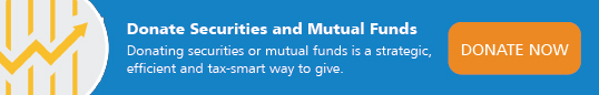 Donate securities and mutual funds