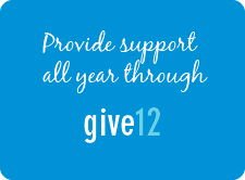 Give 12 monthly donation program