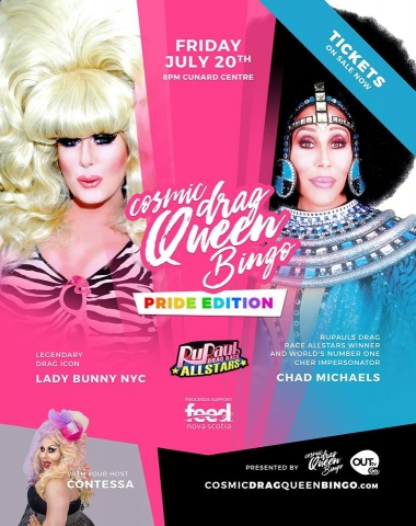 Lady Bunny and Chad Michaels
