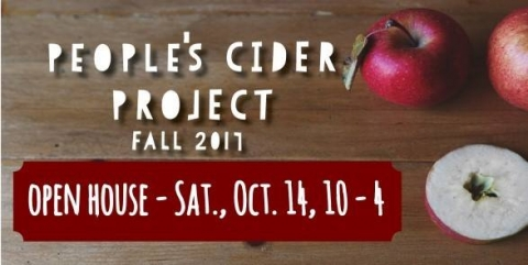 People's Cider Open House