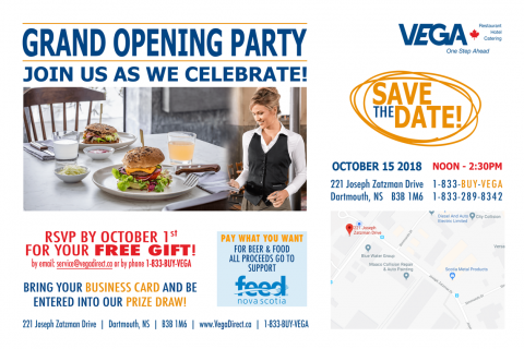Grand Opening Invitation - October 15 from noon until 2pm