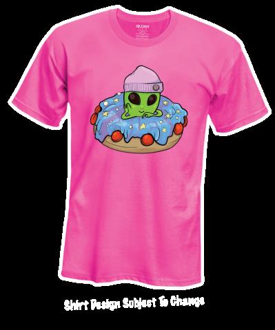 Vandal Doughnut crawl t-shirt