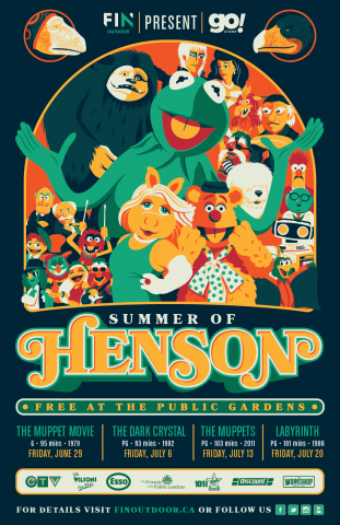 Image of Muppet characters and the heading Summer of Henson