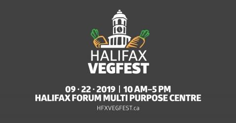 Halifax VegFest - September 22 2019 10am to 5pm at the Halifax Forum