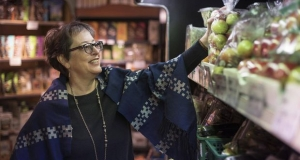 Diana Bronson, executive director of Food Secure Canada, at Eden grocery store in Montreal on Dec. 15, 2017